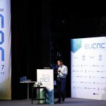 Junquan Deng (Aalto University) presenting the project work in the technical paper session at EuCNC 2017